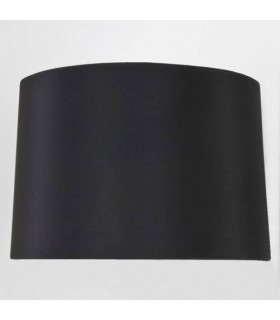 Black Tapered Round Shade