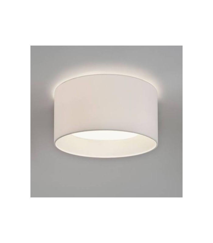 BEVEL ROUND SMALL WHITE SHADE - ASTRO 4098