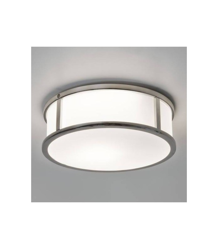1 Light Bathroom Ceiling Light Polished Chrome IP44