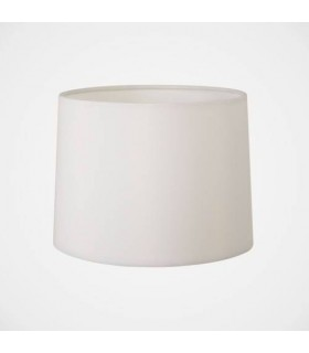 White Tapered 177 Drum Shade, E14