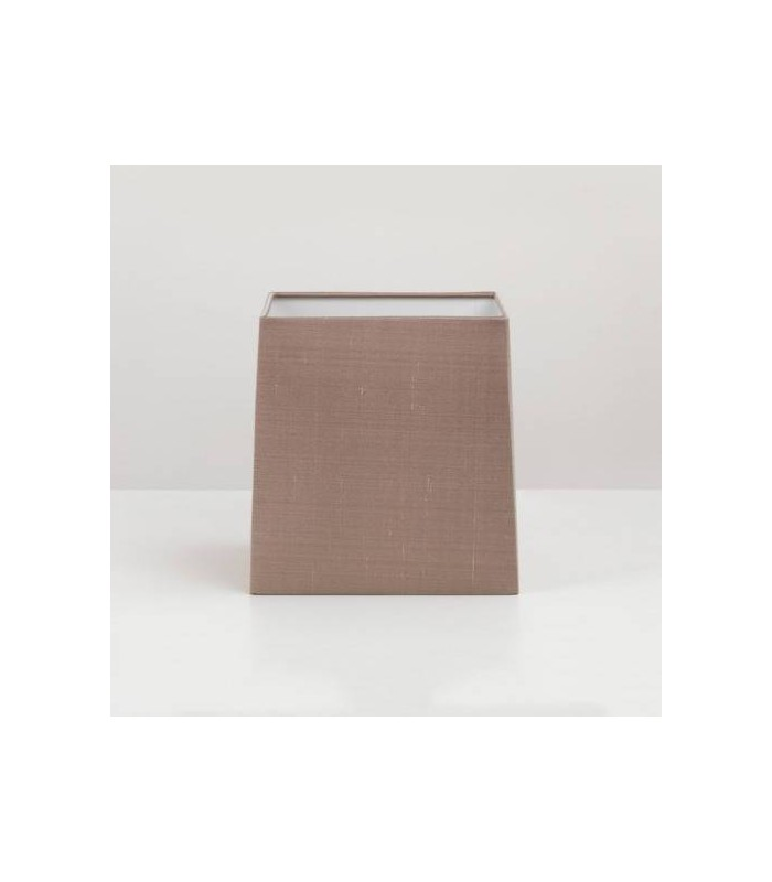 Square Oyster Silk Shade