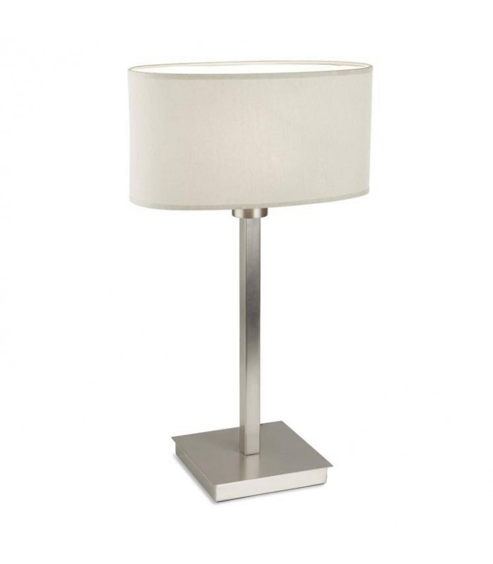 Torino satin nickel table lamp leds c4 10 4695 81 82 mozeypictures Image collections