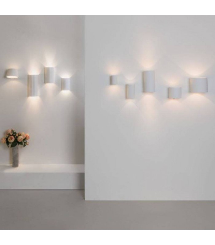 Up And Down Plaster Wall Light