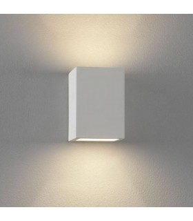1 Light Indoor Up Down Wall Light Plaster, G9