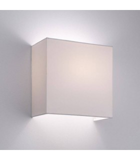 White Wall Shade Fixture