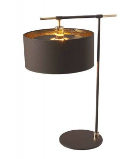 1 Light Table Lamp Brown, Polished Brass, E27