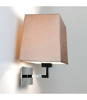 1 Light Indoor Wall Light Polished Nickel - Shade Not Included