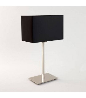 1 Light Table Lamp Polished Nickel - Shade Not Included