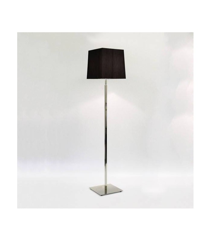 Polished Nickel Floor Lamp - Shade Not Included