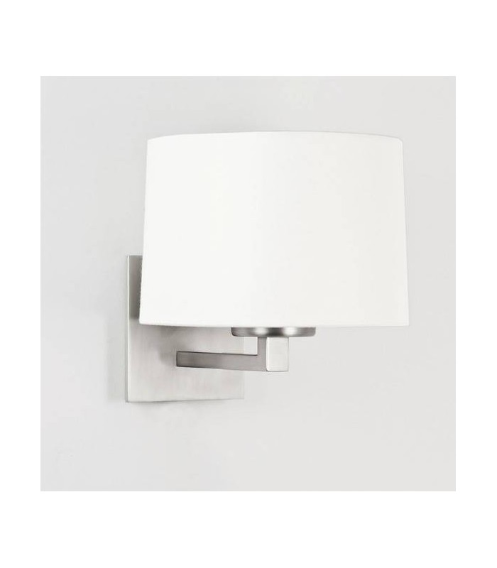 Azumi Classic Matt Nickel Wall Light - Shade Not Included - Astro Lighting 0928