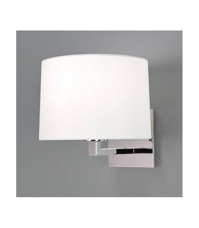 1 Light Indoor Wall Light Polished Nickel - Shade Not Included, E27