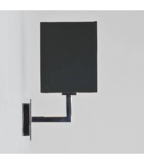 CONNAUGHT WALL LIGHT- CHROME WITH BLACK SHADE - ASTRO 0567