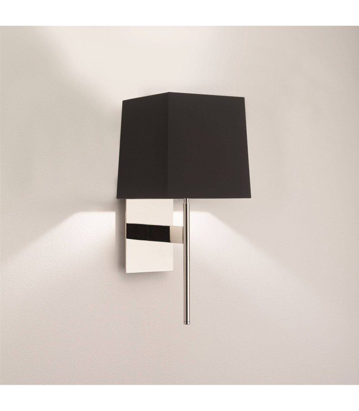 1 Light Indoor Wall Light Polished Chrome - Shade Not Included, G9