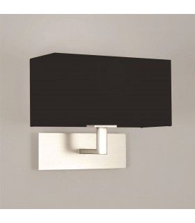 PARK LANE WALL LIGHT MN WITH BLACK SHADE - ASTRO 7098