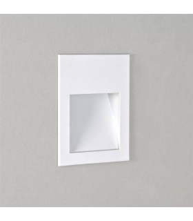 White LED Recessed Wall Light 9.0cm