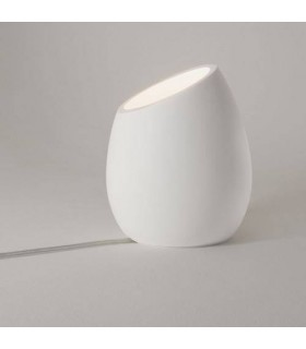 1 Light Floor Lamp Plaster, White, GU10