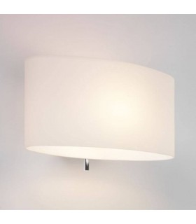 1 Light Indoor Wall Light White Glass