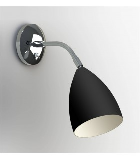 JOEL WALL LIGHT BLACK AND CHROME - ASTRO 7157