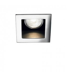 1 Light Recessed Spotlight Chrome
