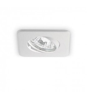 1 Light Tiltable Recessed Spotlight White
