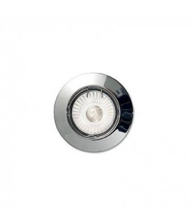 1 Light Recessed Spotlight (3 Pack) Chrome