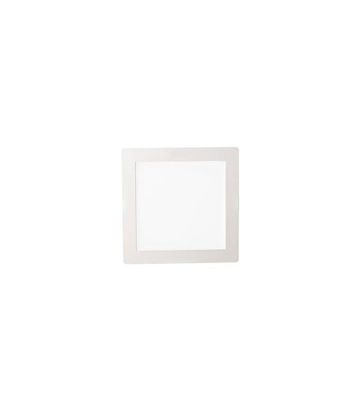 LED 1 Light Medium Square Warm Recessed Spotlight White